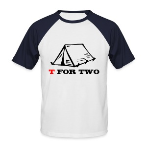 T for Two - Men's Baseball T-Shirt