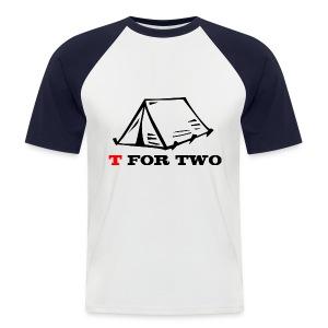 T for Two - Men's Baseball T-Shirt