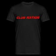 T-Shirts ~ Men's T-Shirt ~ Club Nation Mens Black