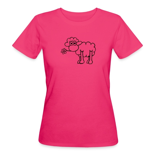 Sheep the world - Frauen Bio-T-Shirt