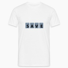 Weiß Save © T-Shirts