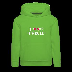 I Love Hyrule - Kids' Premium Hoodie