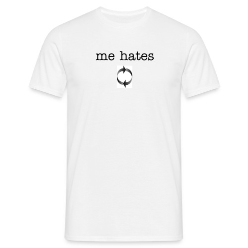 me hates love  - Men's T-Shirt
