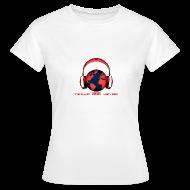 T-Shirts ~ Women's T-Shirt ~ Tezija & Keyra Womens Headphones