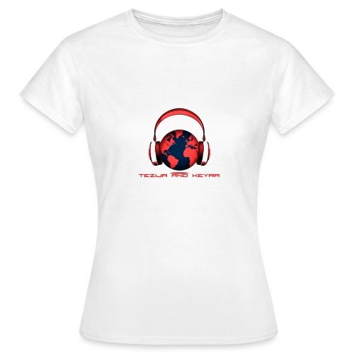 Tezija & Keyra Womens Headphones - Women's T-Shirt
