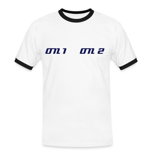on 1 on 2 - T-shirt contrasté Homme