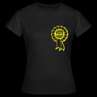 T-Shirts ~ Women's T-Shirt ~ Vote Loony Rosette -Women's
