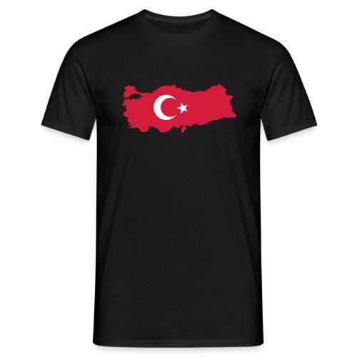 Black tee - Turkey - man - T-shirt herr