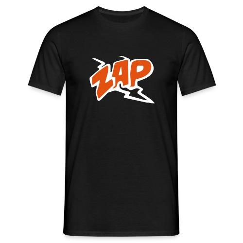 Black tee - ZAP - man - T-shirt herr