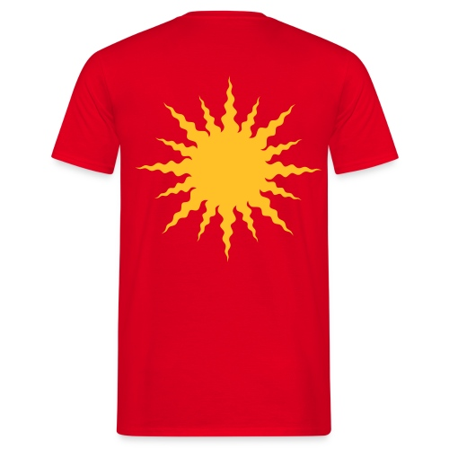 The Sun - Männer T-Shirt