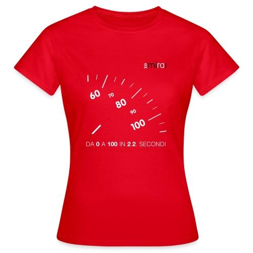 Da 0 a 100 Red - Maglietta da donna