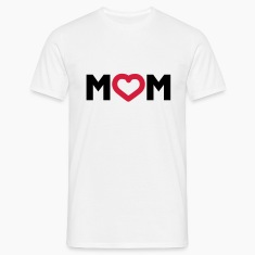 Weiß Mom © T-Shirts