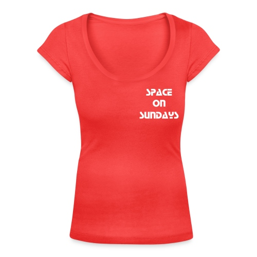 Space on Sundays - Women's Scoop Neck T-Shirt