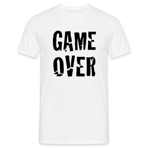 Game Over - T-shirt herr