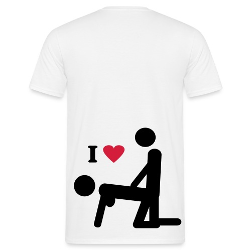 I love 01 - T-shirt herr