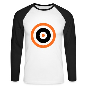 Tannadice Target - Men's Long Sleeve Baseball T-Shirt