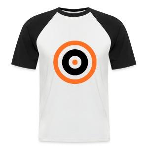 Tannadice Target - Men's Baseball T-Shirt