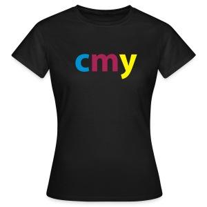 cmy(k) - Vrouwen T-shirt