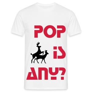 POP is ANIMAL - Koszulka męska