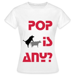 POP is ANIMAL - Koszulka damska