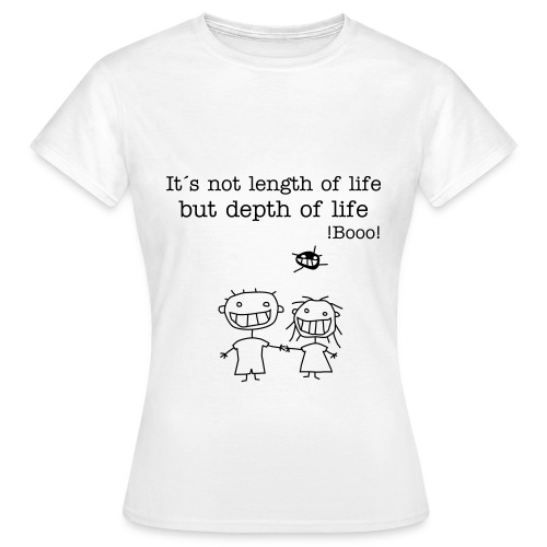 Depth of life - Women's T-Shirt
