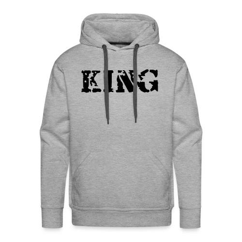 Kingpinkqtas - Bluza męska Premium z kapturem