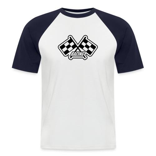 T-shirt Racing - Kortärmad basebolltröja herr