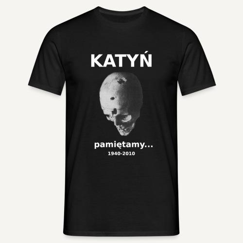 Katyń - pamiętamy - Koszulka męska