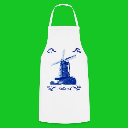 Delft's blauw schort - Keukenschort