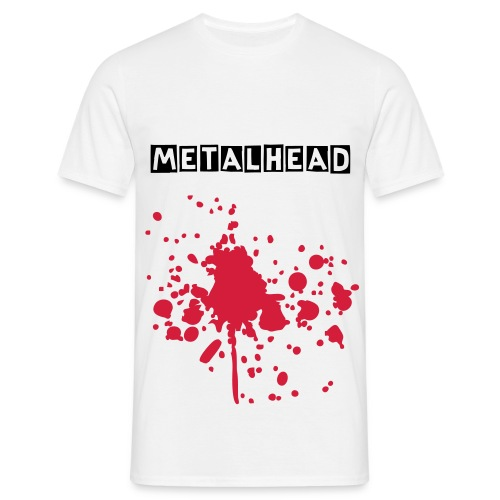 metal - T-shirt herr
