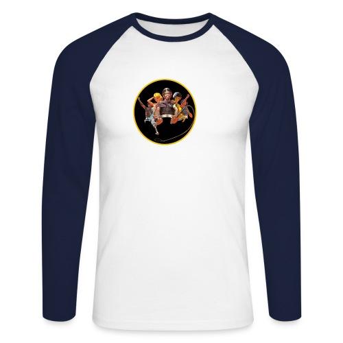 Black Power 68 - Männer Baseballshirt langarm