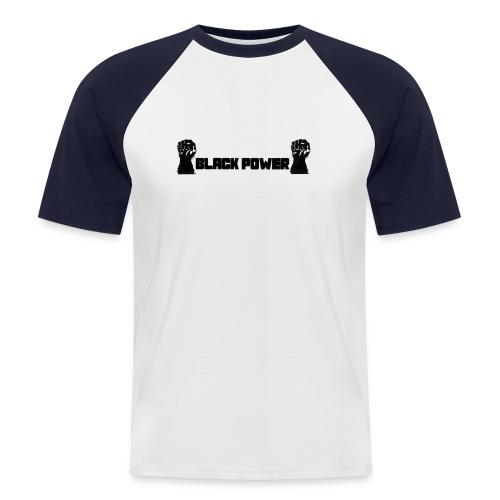 Black Power 68 - Männer Baseball-T-Shirt