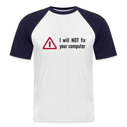 PC engineer - Men's Baseball T-Shirt