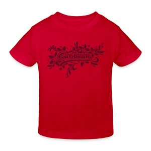 rotes Kinder-T-Shirt Caribean - Kinder Bio-T-Shirt