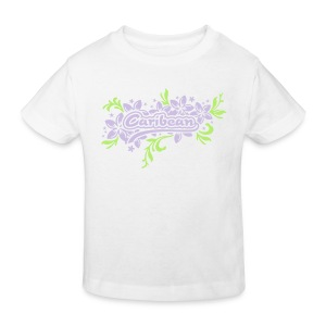 weisses Kinder-T-Shirt Caribean - Kinder Bio-T-Shirt
