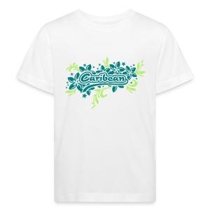 weisses Kinder-T-Shirt Caribean - Kinder Bio-T-Shirt