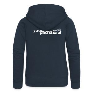 YAQU PACHA Damen Kapuzenjacke - Frauen Premium Kapuzenjacke
