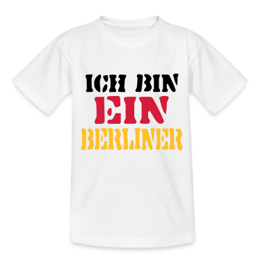 ich bin ein berliner deutschland t shirt spreadshirt. Black Bedroom Furniture Sets. Home Design Ideas