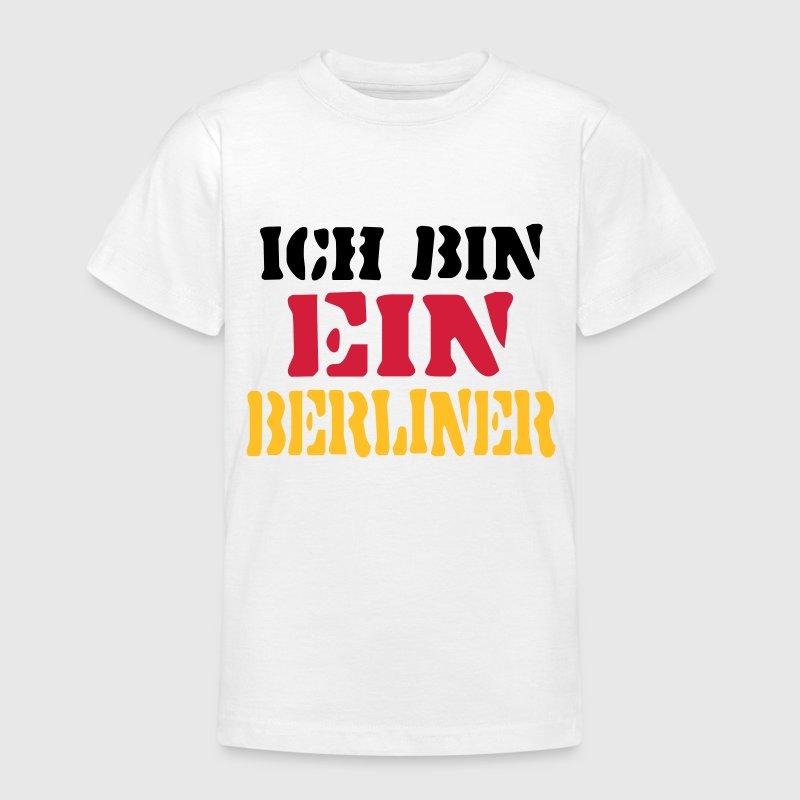 ich bin ein berliner deutschland t shirt spreadshirt. Black Bedroom Furniture Sets. Home Design Ideas