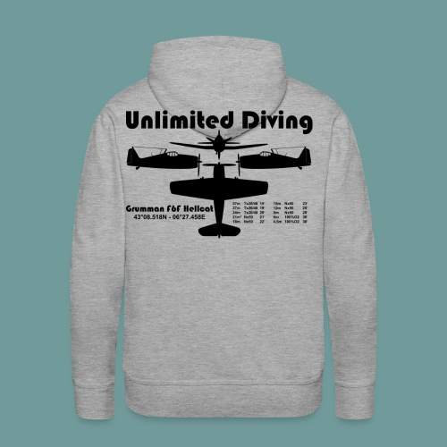 Sweat Hellcat 01 - Sweat-shirt à capuche Premium pour hommes