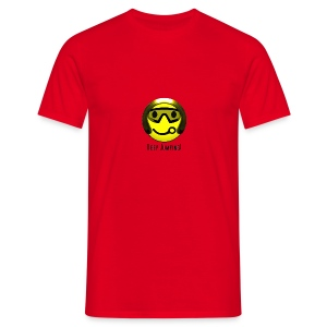 Smiley - Keep Jumping! - Männer T-Shirt