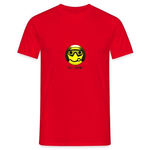 Smiley - Keep Jumping! - Männer T-Shirt
