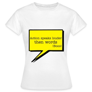 Action - Women's T-Shirt