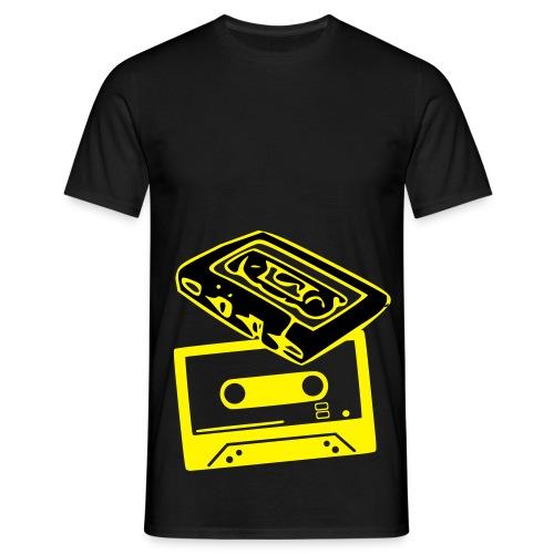 Cassette (Retro). - Men's T-Shirt