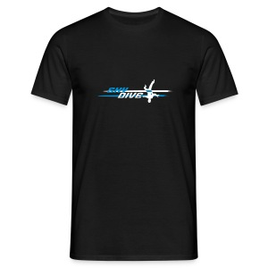 Skydive HeadDown - Männer T-Shirt