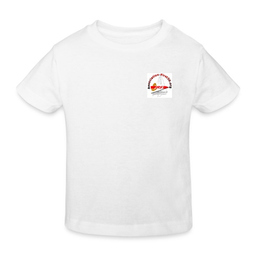 T-shirt bio enfant manches courtes association first 30.org - T-shirt bio Enfant