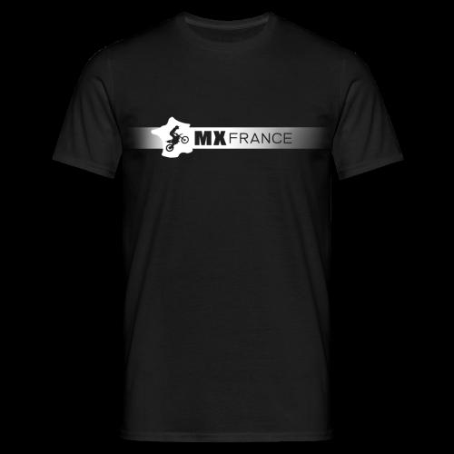 Tshirt MX France Logo blanc homme - T-shirt Homme