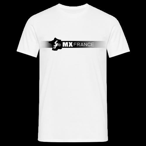 Tshirt MX France Logo noir homme - T-shirt Homme
