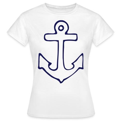 Anker - weiß - Frauen T-Shirt