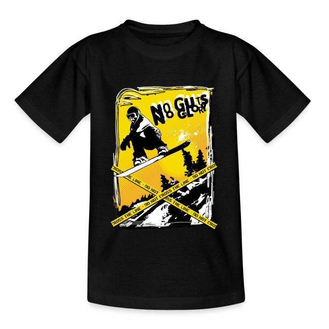 No guts no Glory - Blk Ed